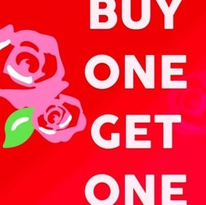 Buy one get one free on items $15 or less